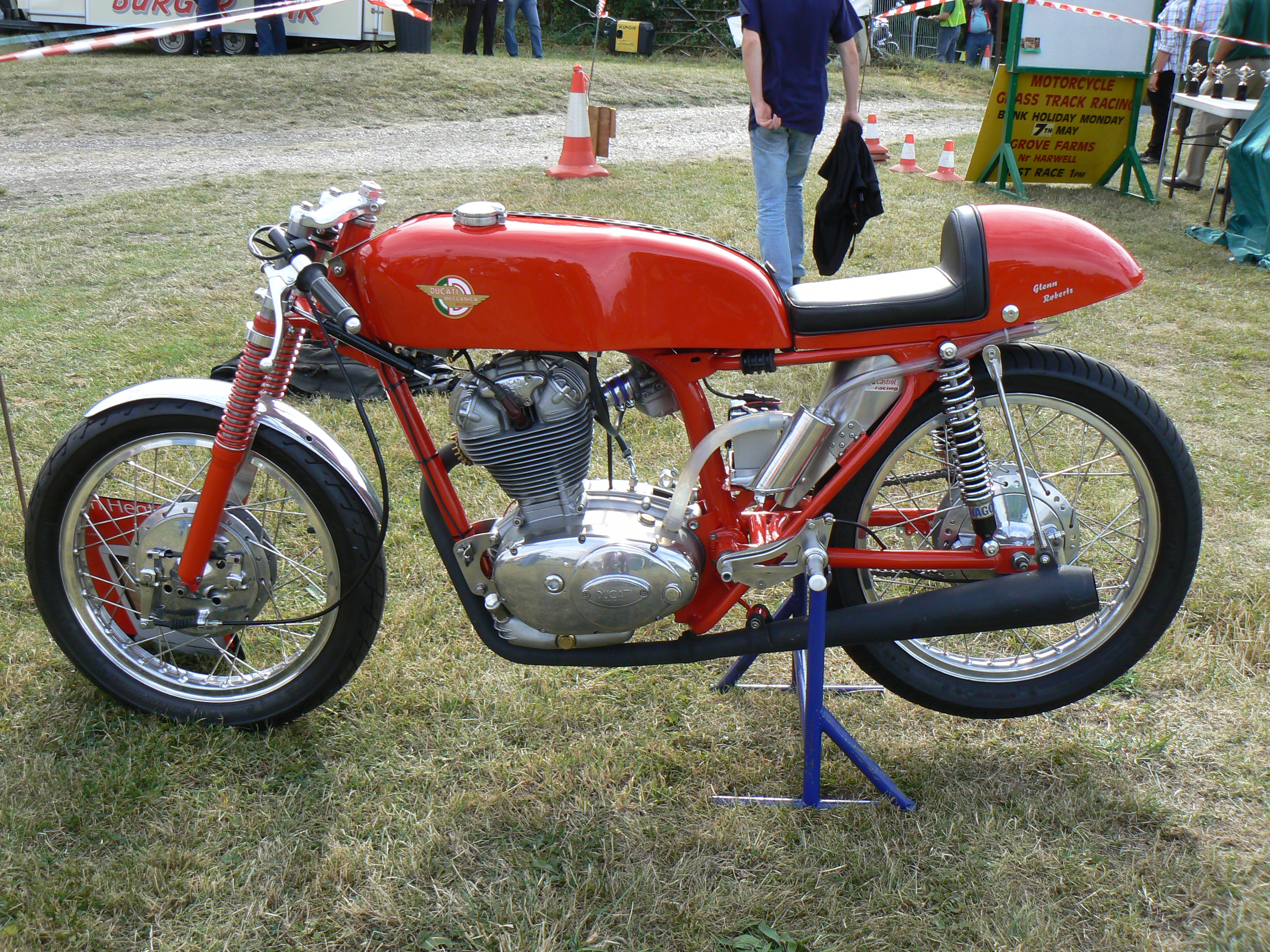 Ducati Narrow Case Racer 250 1962 (unfinished)