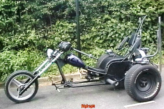 One of the best VW trikes I've seen